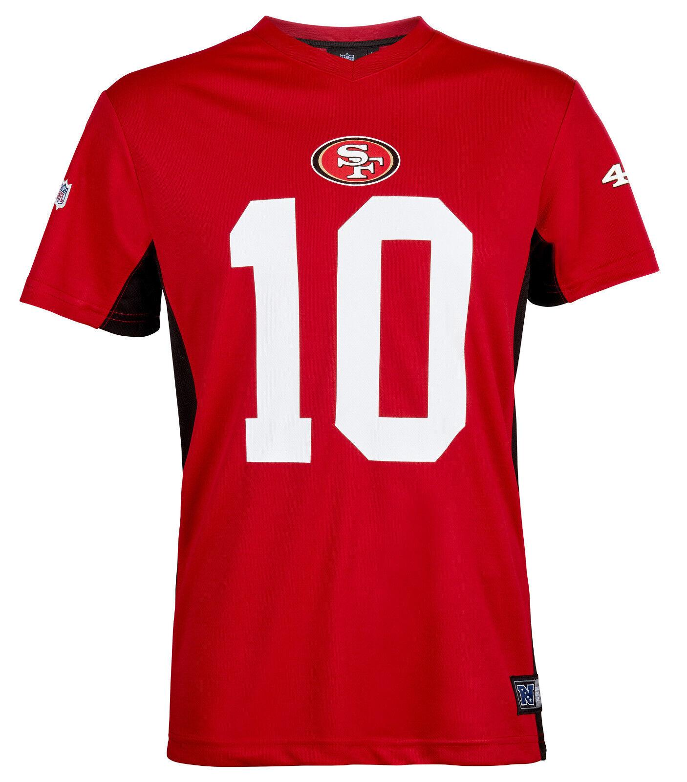 NFL San Francisco 49ers Jimmy Garoppolo 10 Trikot Jersey Shirt Polymesh 2018