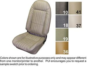 Details About 1973 74 Chevrolet Nova Custom Front Rear Seat Covers Buckets Or Bench Pui