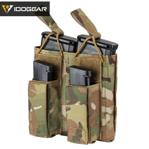 IDOGEAR-Tactical-Magazine-Pouch-Double-Open-Top-5-56-amp-Pistol-Mag-Carrier-Military