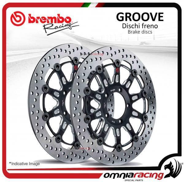 2 discos Freno frente Brembo The Groove 300mm Kawasaki Versys 1000 2012>