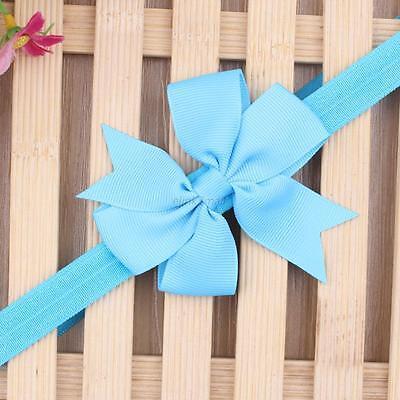 1PC Beauty Baby Kid Girls Headband Flower Hair Band Bow Headwear Accessories E95