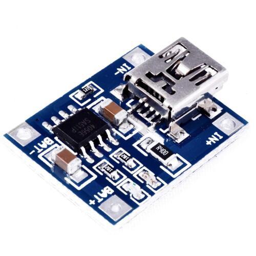 Chargeur batterie battery Lithium LIPO mini USB - module de charge board Arduino
