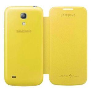 Originale-Clip-On-Flip-Custodia-Cover-per-Samsung-Galaxy-S4-Mini-i9195-i9190