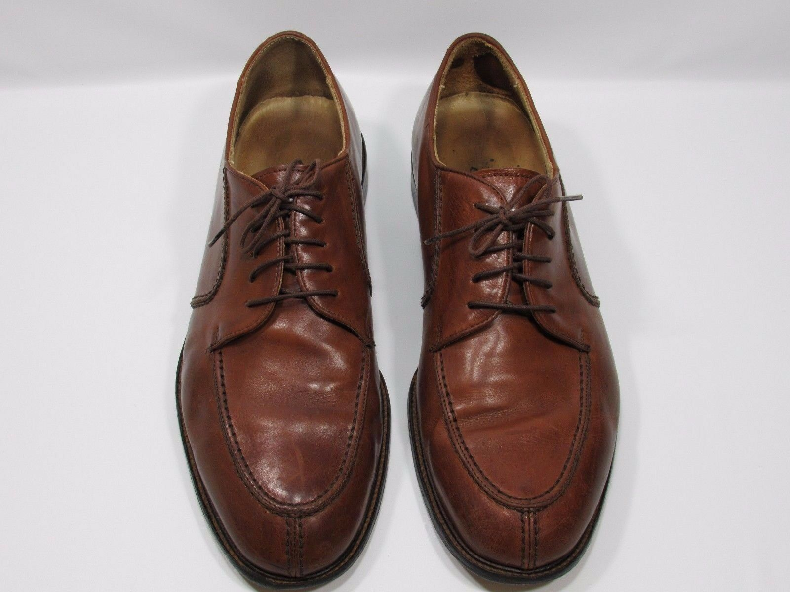 newest 491b1 53361 men BROWN ALL LEATHER SIZE 11.5 M MADE IN ITALY PRONTO oqmmjn1104-Men s  Formal
