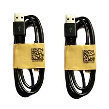 2Pcs Black 3FT Micro USB Data Sync Charger Cable For Samsung S4 S3 NOTE 2 i9500