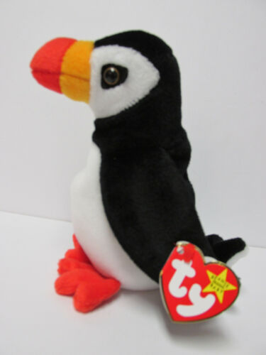 "/""Puffer/"" the puffin Brand New w//Mint Tags Ty Beanie Baby"