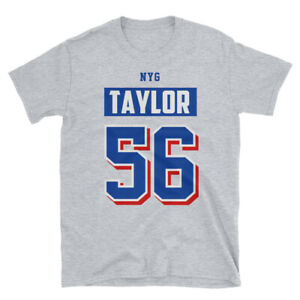 low priced 66cbc e953c Details about Lawrence Taylor Shirt, New York Giants Throwback Jersey Shirt