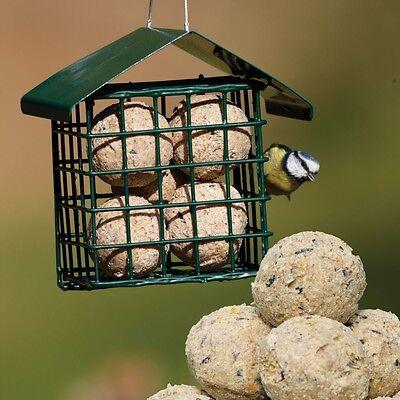 Job Lot 10 x  Heavy Duty Hanging Garden Bird Fat Balls Suet Cake Feeders#1P2