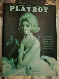 Playboy-September-1964-Free-Shipping-USA-Very-Good-Condition