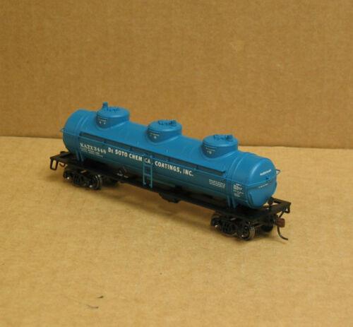 Athearn 74465 HO De Soto Chemical Triple Dome Tank Car #3448