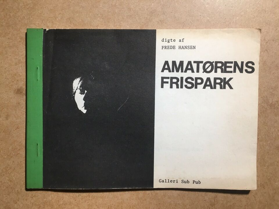 Amatørens frispark, Frede Hansen, genre: digte