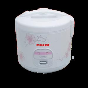 Nikai 220 Volts Rice Cooker Steamer 1.8 Litre 10-Cup 220v European Cord Plug