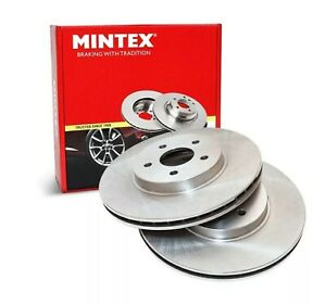 NEW MINTEX FRONT BRAKE DISCS SET MDC2087 FREE NEXT DAY DELIVERY