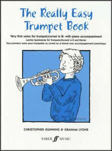 Details about The Really Easy Trumpet Sheet Music Book Method Learn How To  Play Graham Lyons