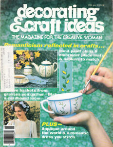 Craft-Books-1470-Decorating-amp-Craft-Ideas-Magazine-Vintage-June-1977
