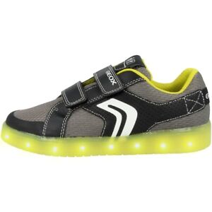 Geox J Kommodor B. A Gs Chaussures Del Enfants Sport Sneaker Black J925pa014buc0802-02fr-fr Afficher Le Titre D'origine 2019 Nouveau Style De Mode En Ligne