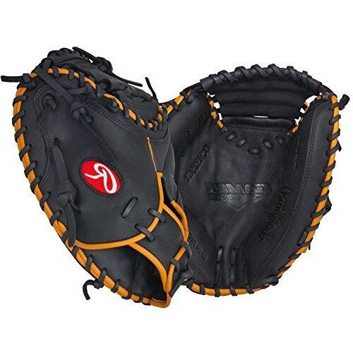 """Rawlings GG Gamer GCM325GT catchers mitt 32.5/"""" inch LHT baseball catcher/'s glove"""