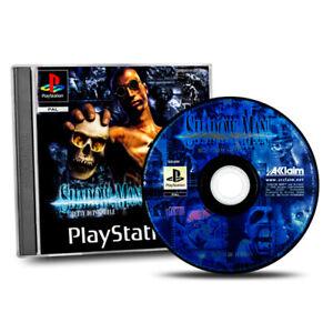 Playstation-1-PS1-Jeu-Shadow-Man-Emballage-D-039-Origine-sans-Manuel-Aa