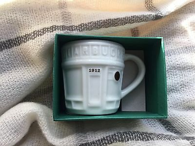 STARBUCKS PIKE PLACE STOREFRONT DEMI ESPRESSO MUG CUP ORNAMENT CHRISTMAS 2016