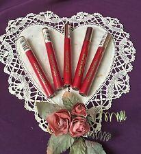 Rare! Set Of 5 Milani Haute Flash Full Coverage Shimmer Lip Gloss #101 Hot Flash