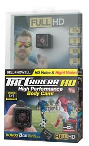 Bell + Howell TAC CAMERA - Compact & Portable HD Body Camera, As Seen on TV!