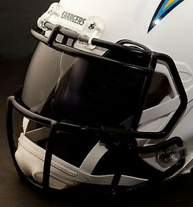Custom San Diego Chargers Nfl Oakley Football Helmet Eye