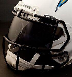 Details About Custom San Diego Chargers Nfl Oakley Football Helmet Eye Shield Visor