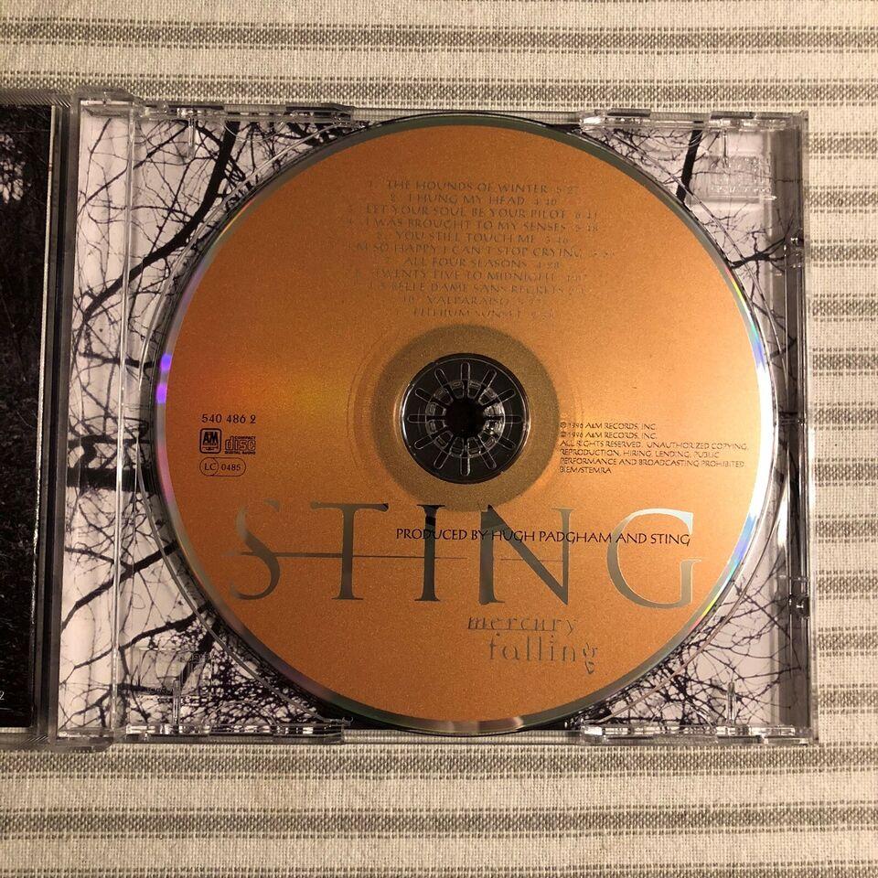Sting: Mercury Falling, pop