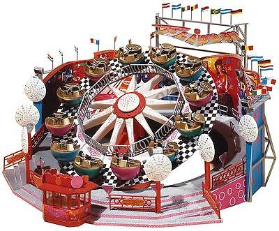 NEW HO Faller FLIPPER ROUNDABOUT Amusement Park Ride :Circus Building KIT 140439