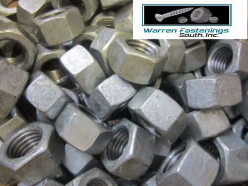 25 3//4-10 HEX NUTS HOT DIPPED GALVANIZED 25 PIECES