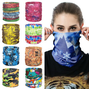 Floral-Tube-Scarf-Bandana-Face-Mask-Cycling-Neck-Cover-Unisex-Headband-Outdoor