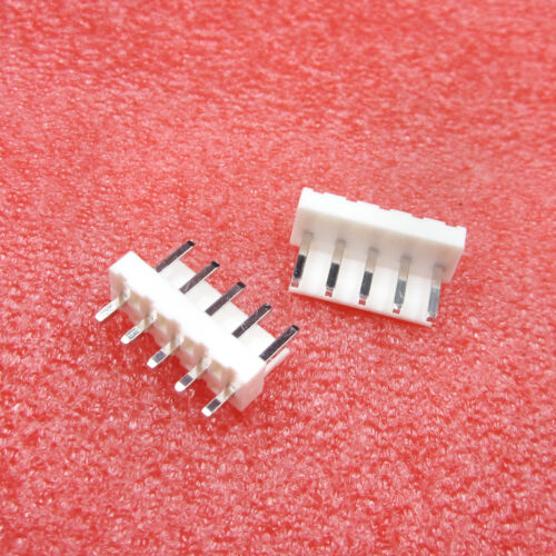 20//60PCS B5P-VH 5 PIN JST Solderless Terminals Header 3.96mm 5 Way