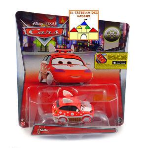 CARS-Personaggio-HARUMI-in-Metallo-scala-1-55-by-Mattel-Disney