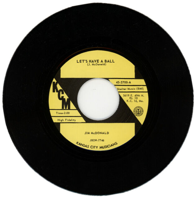 "JIM McDONALD ""LET'S HAVE A BALL"" ROCKABILLY"