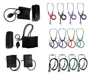 Blutdruckmessgeraet-Oberarm-Wahl-m-o-Stethoskop-fuer-Notfalltasche-Rettungsdienst