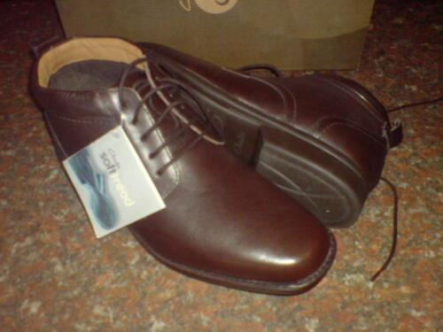 Extra Foot Uk Leather 9 Boots Fall Soft Brown Men Clarks Cga5UU