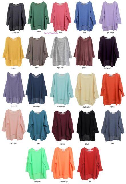 Japan Oversized Layering Tunic Knit Sweater! FREE SIZE