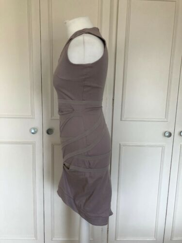Cut Out m Sexy Dress uk10 Stone In Neckline Bandage Line Preen Ladies With pink SzRSCfH