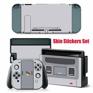 Protective-Skin-Stickers-For-Nintendo-Switch-Wrap-POP-SKIN-Super-Famicom-Edition