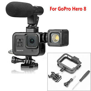 Para-GoPro-Hero-8-Camara-Alloy-Protective-Frame-Border-Case-Cage-Housing-Carcasa
