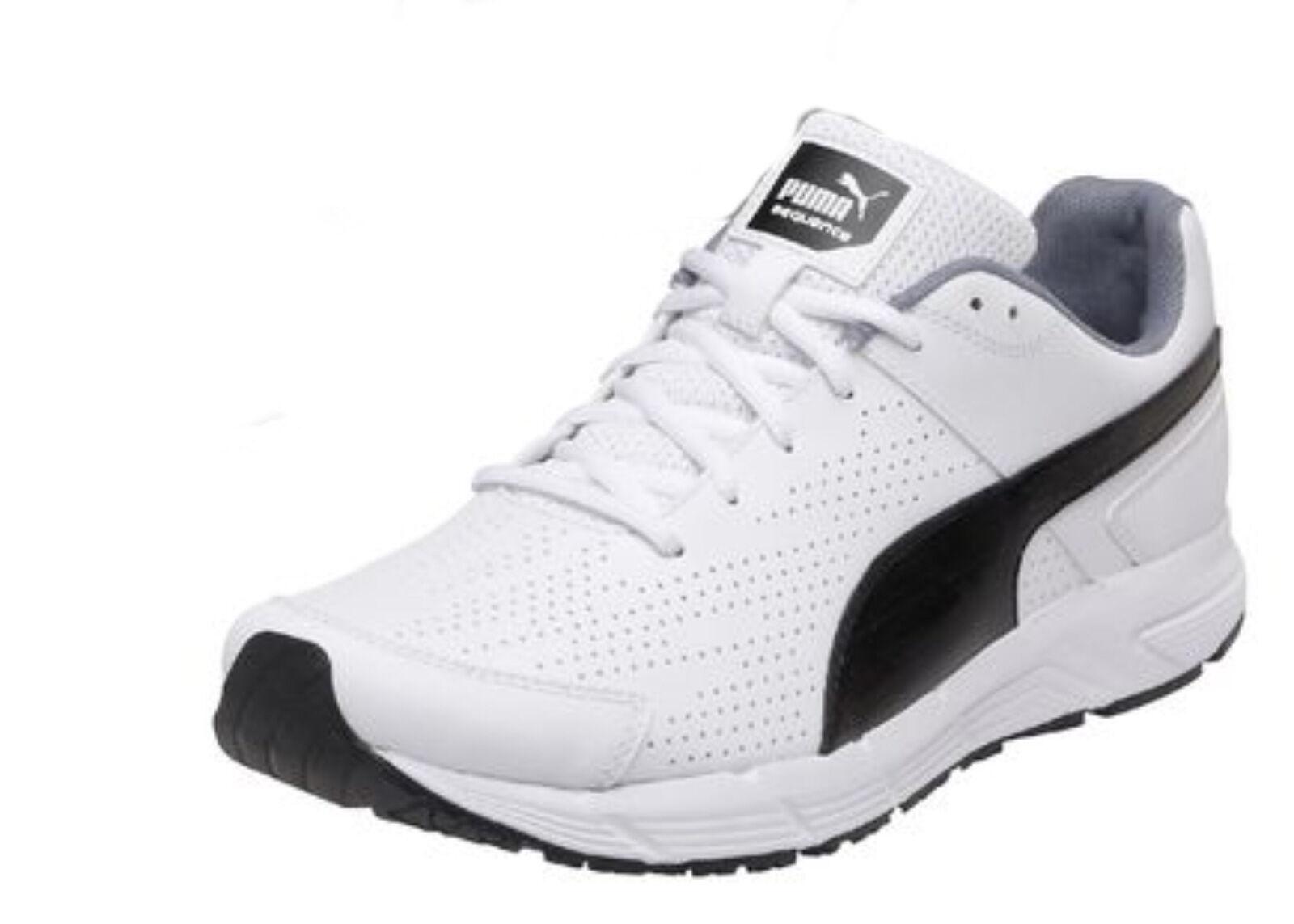 Puma SEQUENZA IN PELLE da men shoes da corsa VARIE TAGLIE - NUOVO in scatola