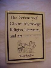 1995 HB Book, DICTIONARY OF CLASSICAL MYTHOLOGY, RELIGION, LITERATURE, AND ART