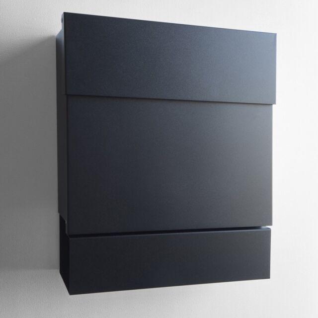 Letterman Briefkasten 5 schwarz Radius Design günstig kaufen | eBay