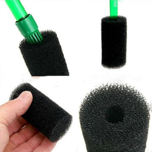 5Pcs Aquarium Fish Tank Black Cotton Filter Foam Sponge Pond Protector HU YN
