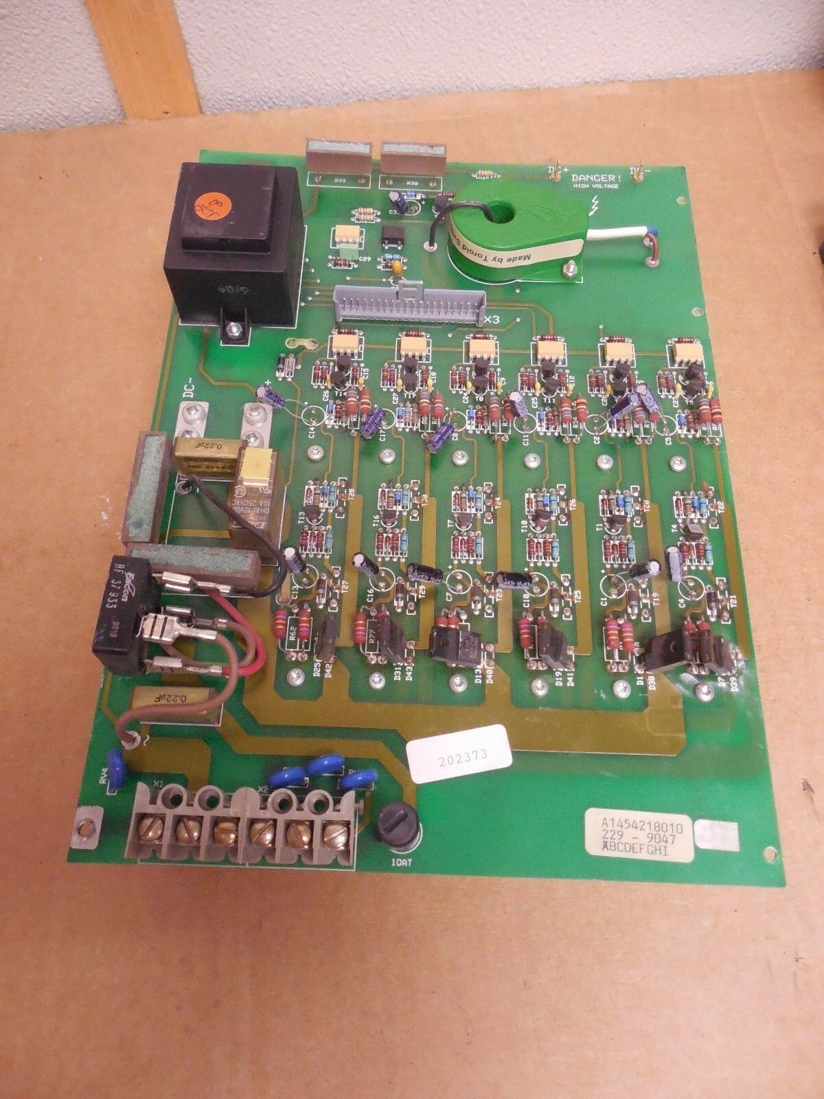 UNKNOWN BRAND NAME POWER CIRCUIT BOARD CARD S080065 A1454218010