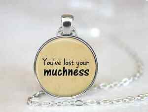 Alice-In-Wonderland-You-039-ve-Lost-Your-Muchnes-Glass-pendant-chain-Necklaces