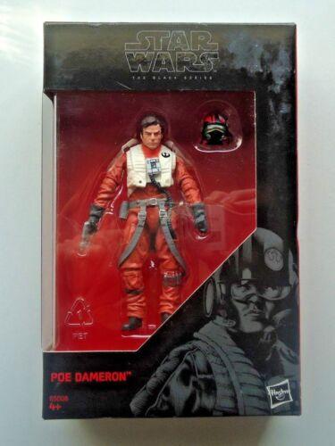 "Star Wars The Black Series 3.75/"" PoE Dameron X Wing pilot B5008 Neuf Scellé"