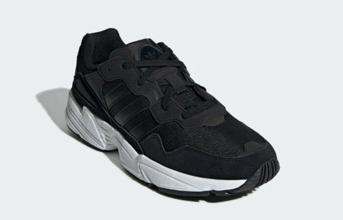 (EE3681) MENS ORIGINAL ADIDAS YUNG 96 BLACK WHITE NEW