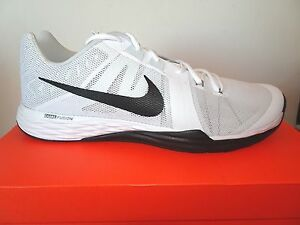 visión Residente Jarra  NIKE Men's Train Prime Iron DF Training Shoe DF 832219 100 White/Black NWD  | eBay