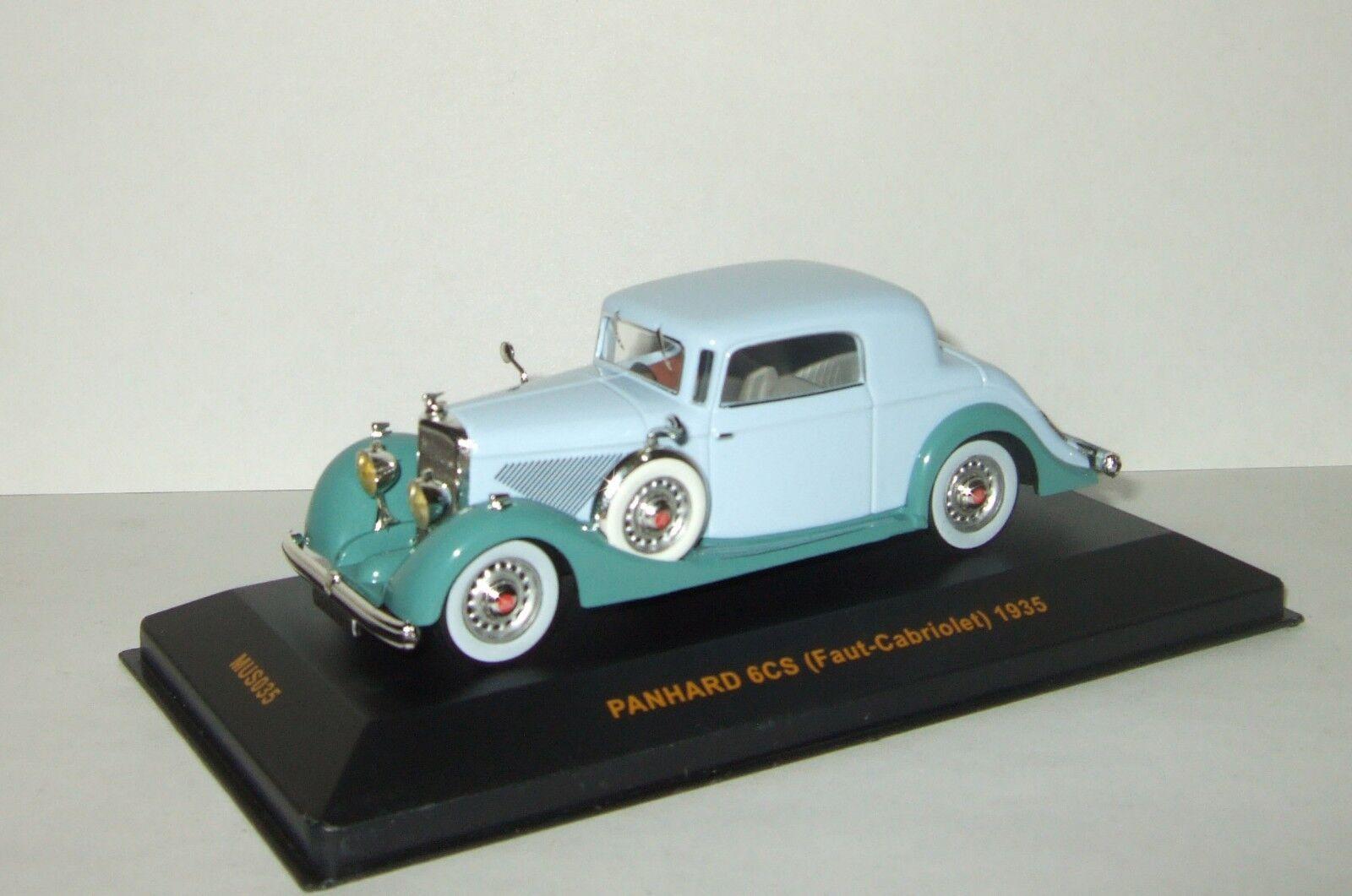 Panhard 6 CS 1935 Ixo Museum 1 43 MUS035
